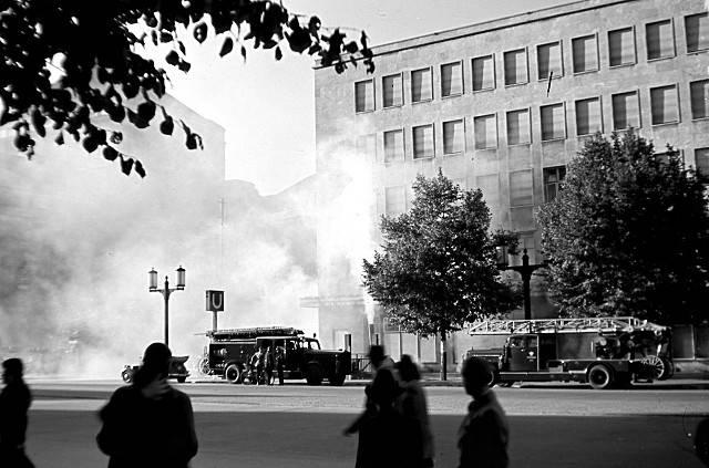 Пожар в Берлине