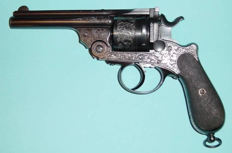 Варнаны против Нагана. И револьверы, и пистолеты