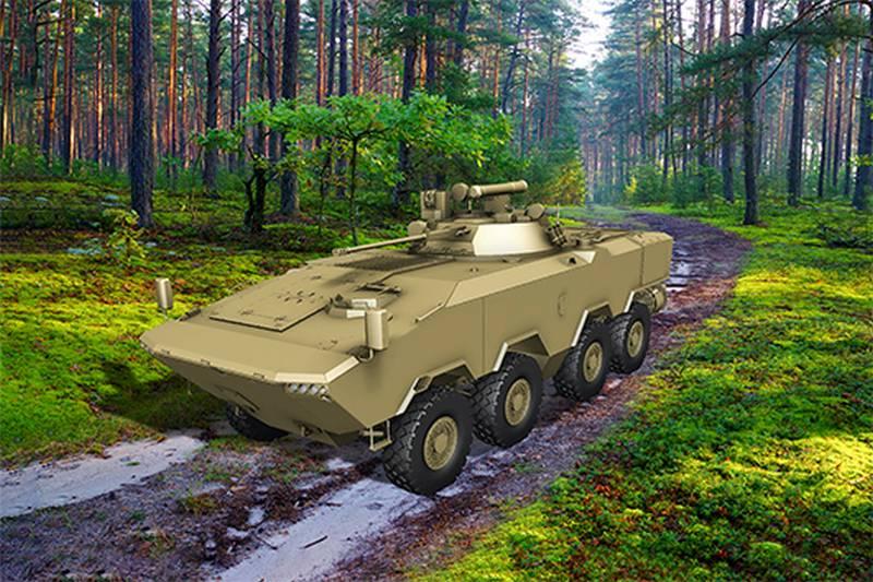 """""""Sarà in grado di sostituire le auto sovietiche"""": BTR-V2 è stato sviluppato in Bielorussia"""