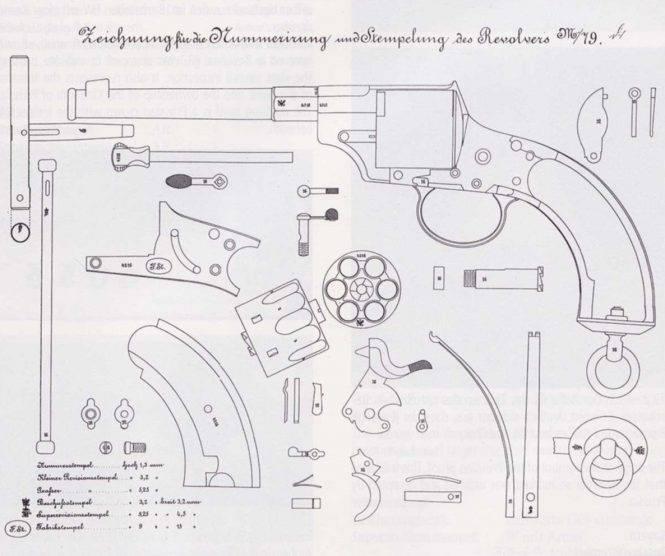 Самый «киношный» военный револьвер