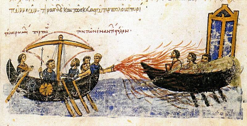 «Идут русские, нет числа кораблям их, покрыли море корабли!»