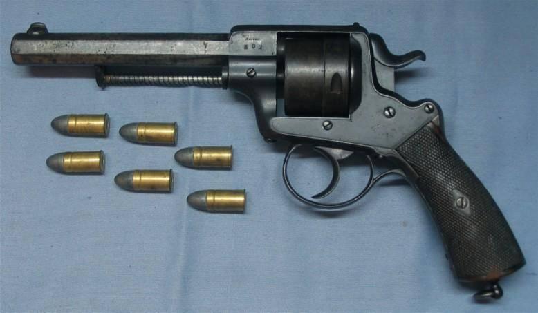 Забытые за давностью лет… Револьверы Франкотта