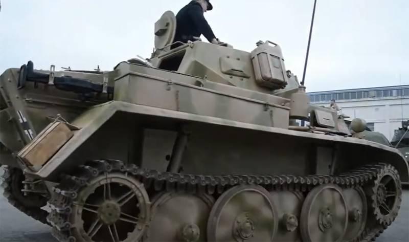 Быстроходная бронетехника войны: танк Panzerkampfwagen II версии D