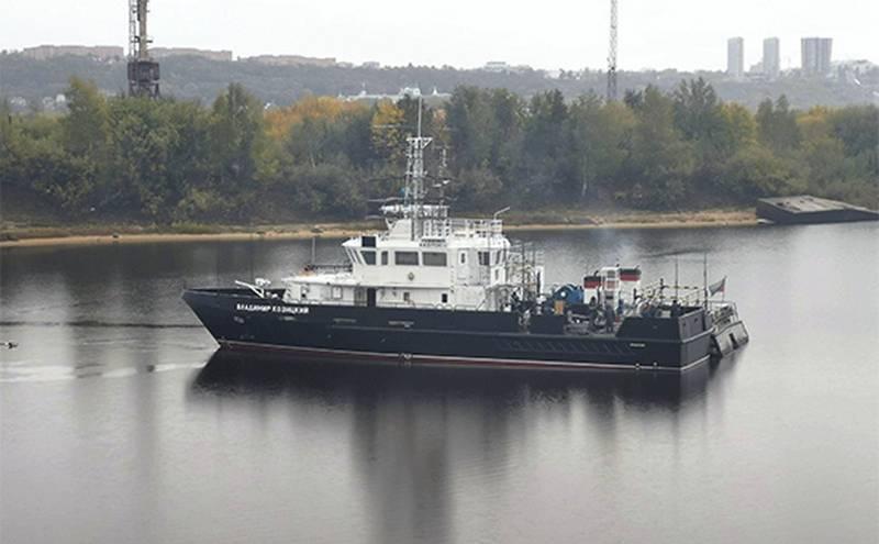 """大型水文船""""Boris Slobodnik""""项目23040G进入黑海舰队"""
