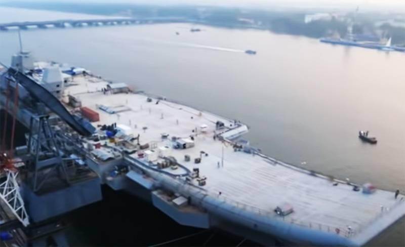 Причиной очередного переноса морских испытаний авианосца INS Vikrant в Индии назвали сезон дождей