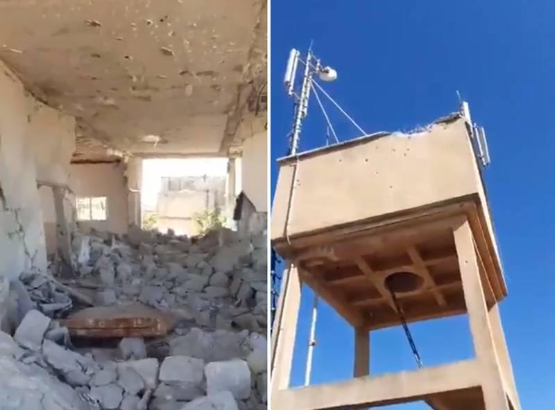 """武装分子袭击SAA阵地,""""回应""""后指责叙利亚军队炮击平民"""