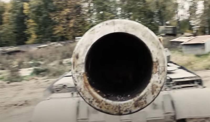 """乌克兰新闻:该国国防部接受秘密坦克""""诺塔""""的保护"""