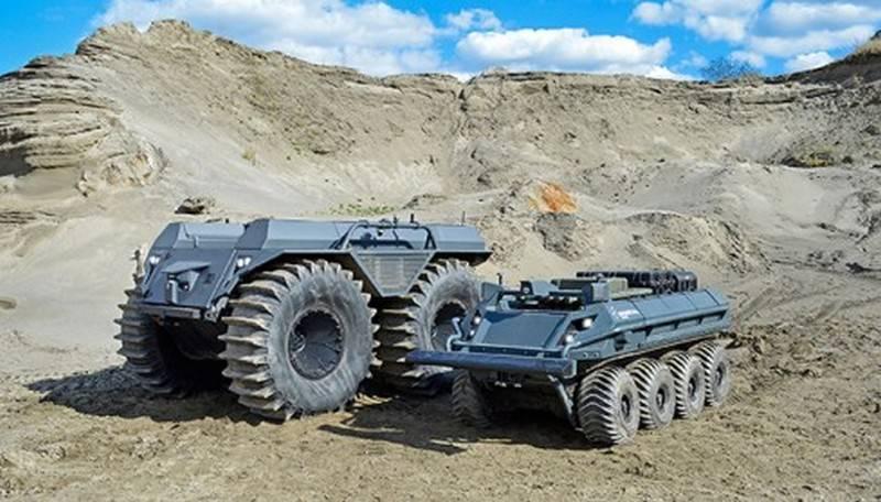 新的 Mission Master XT 综合体补充了德国机器人平台系列
