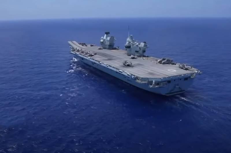 Sohu: После инцидента с HMS Defender британский авианосец Queen Elizabeth превращается в мишень для российских гиперзвуковых ракет в Средиземном море