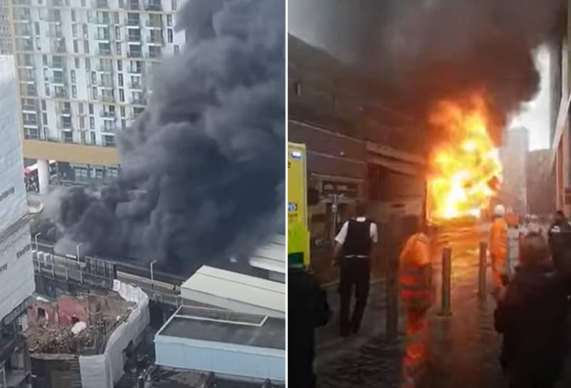 В районе одной из станции метрополитена Лондона прогремел взрыв