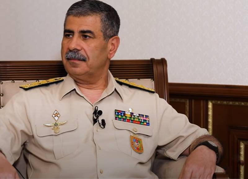 Azerbaijani Defense Minister: If Armenia wants to fight, our army will fight
