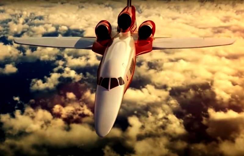 ВВС США ищут варианты нового сверхзвукового лайнера для первых лиц страны