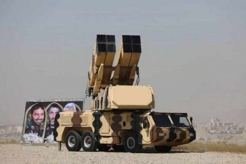 Иран показал новый зенитный ракетный комплекс малой дальности 9 Dey