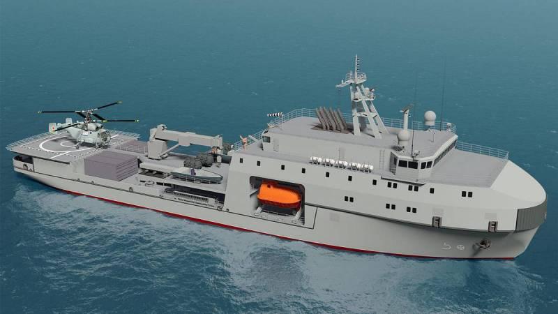 ВМФ РФ получит серию малых морских танкеров проекта 03182