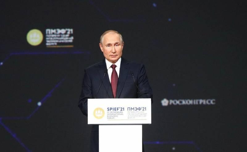 Российский президент напророчил США судьбу Советского Союза