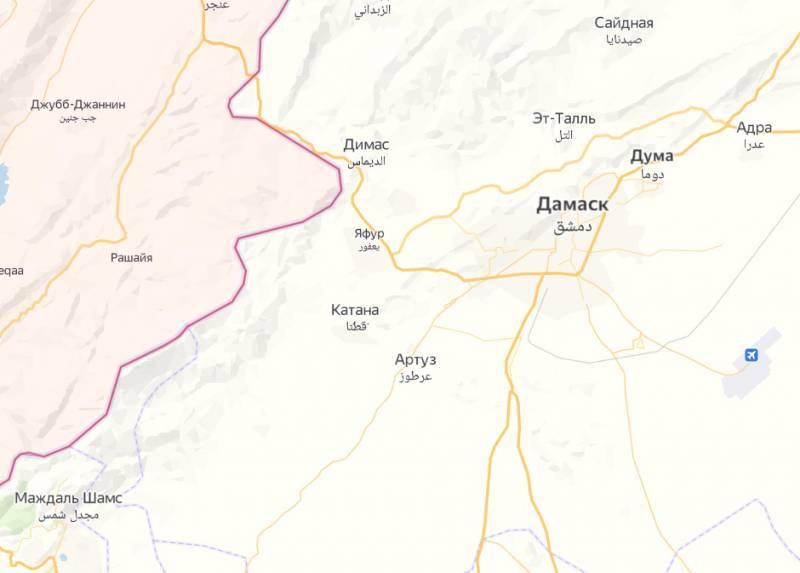 Израелските ВВС атакуваха 4 провинции на Сирия, включително Латакия