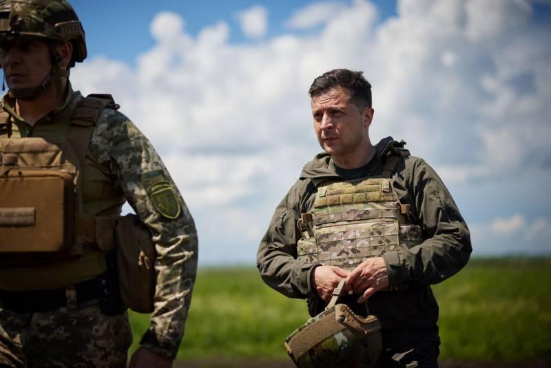 Зеленский посетил позиции ВСУ на линии разграничения на Донбассе