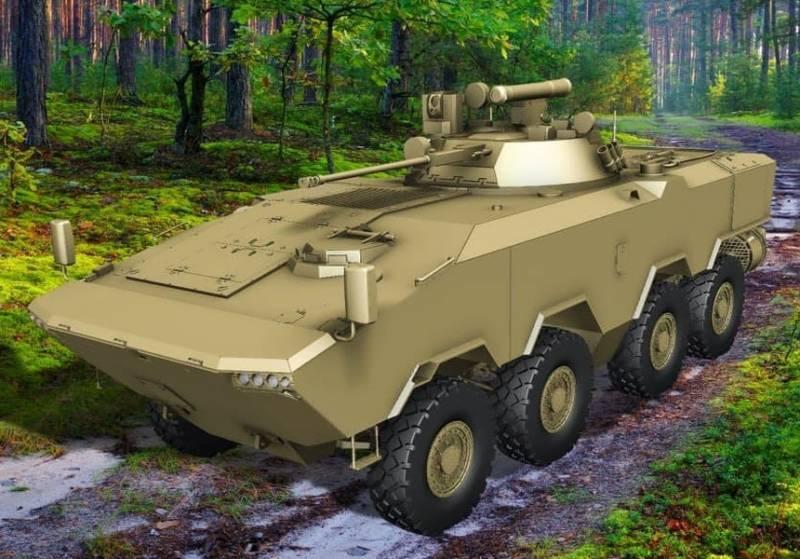 Минск анонсировал показ нового отечественного бронетранспортёра БТР-V2 8Х8
