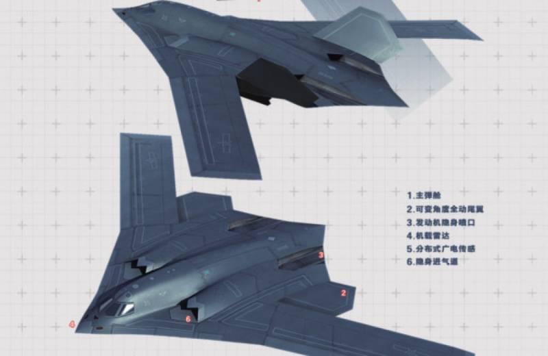 Бомбардировщик Xian H-20. Новые штрихи к портрету