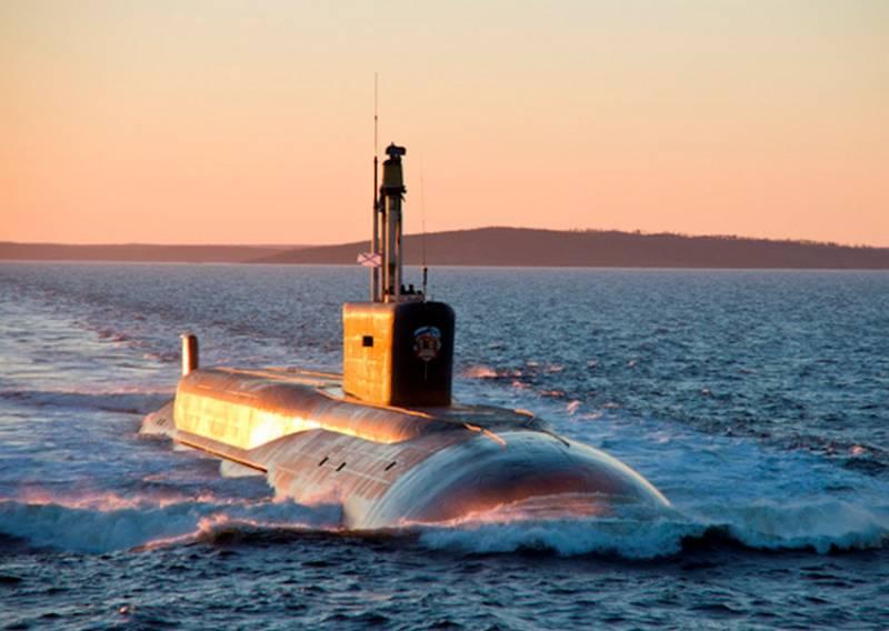 Атомный подводный крейсер проекта «Борей» впервые покажут широкой публике