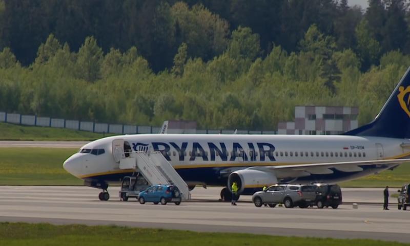 Британия не смогла обнаружить «руку Москвы» в посадке лайнера Ryanair в аэропорту Минска