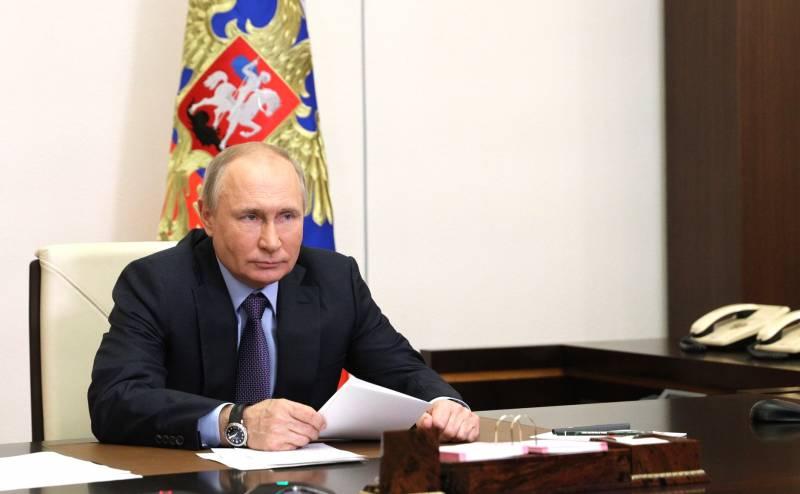 Путин в интервью СМИ США назвал слова Байдена в свой адрес продиктованными влиянием Голливуда