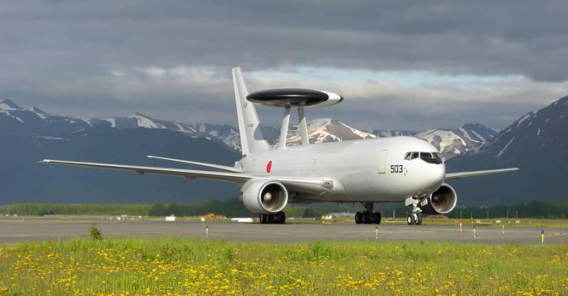 Современные японские радиолокационные средства контроля воздушного пространства и система управления ПВО Японии