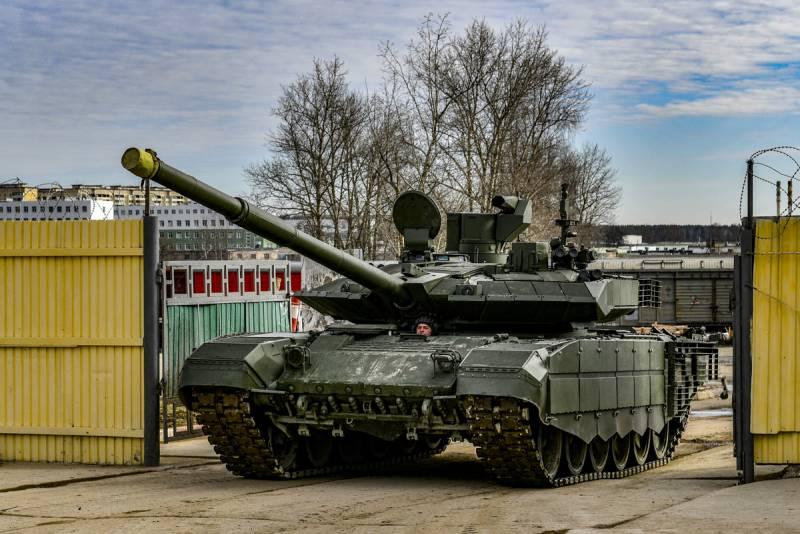 Минобороны назвало количество танков, планируемых к поставке в войска до конца года