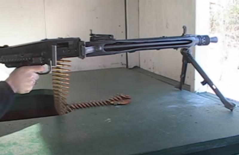 MG 42 - пулемёт вермахта со скорострельностью до 1500 выстрелов в минуту