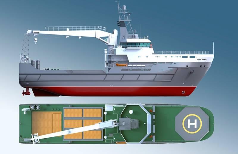 Подносчик снарядов для российского флота. Морской транспорт вооружения проекта 20360М