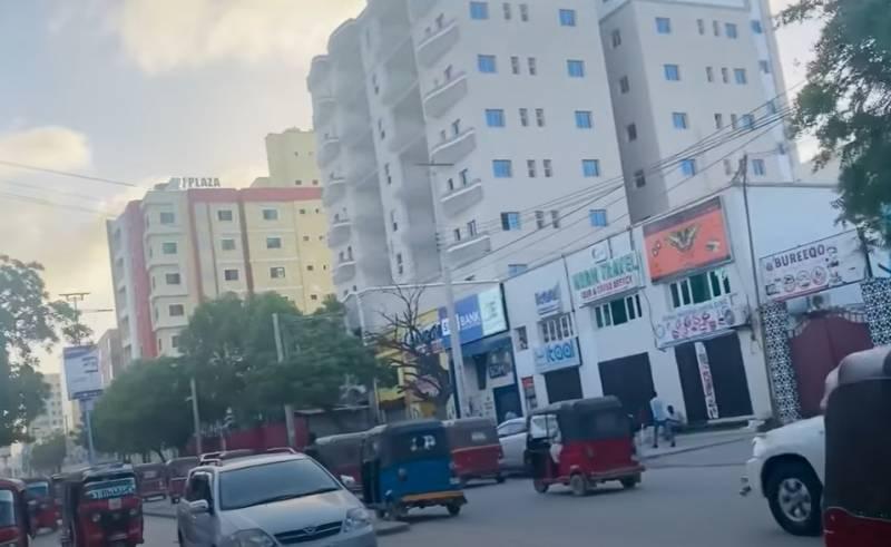 Крупный теракт произошёл в столице Сомали