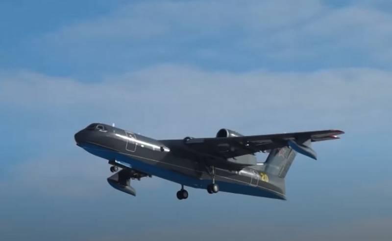 В Таганроге начались лётные испытания третьего самолёта-амфибии Бе-200ПС для Минобороны