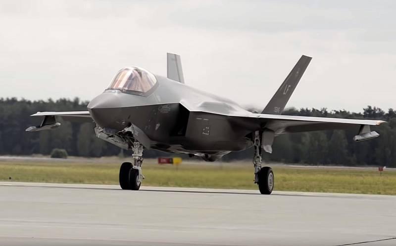 «Дорогой и ненадёжный»: Британское издание раскритиковало американский истребитель пятого поколения F-35