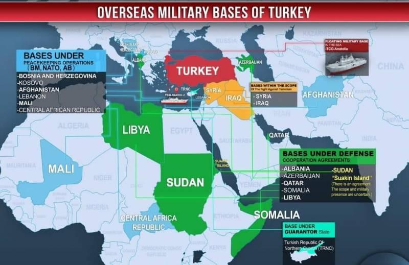 Нараства военната хегемония на турската република