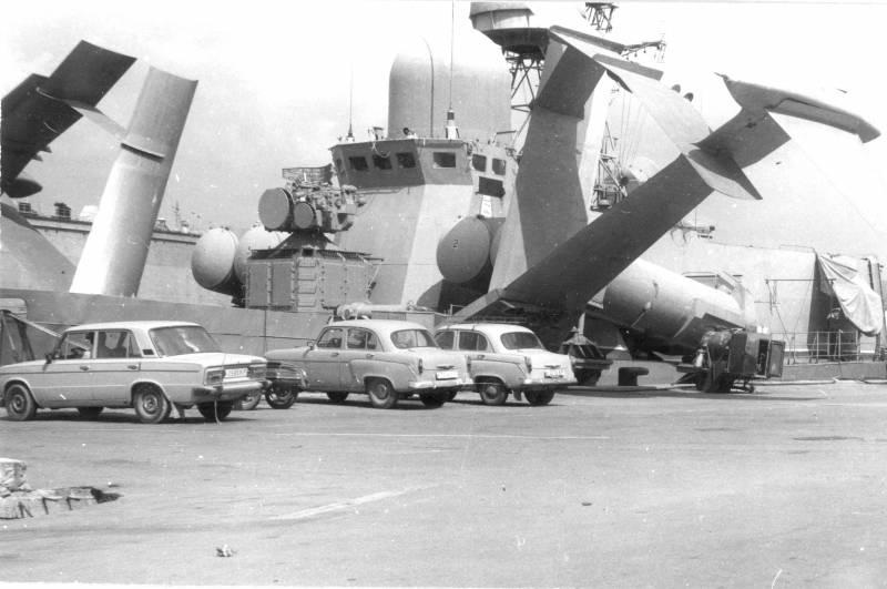 Корабль с гигантскими подводными крыльями. МРК проекта 1240 «Ураган»