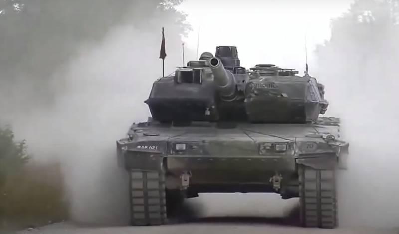 «Всё основано на точности первого выстрела»: в венгерской армии назвали отличия танка Leopard от Т-72