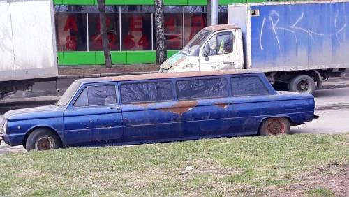 扎波罗热豪华轿车