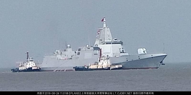 Китайский «Тип 055». Эсминец с характеристиками крейсера