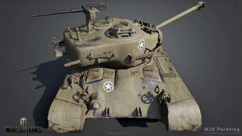 M26 Pershing: обзор знаменитого «американца»