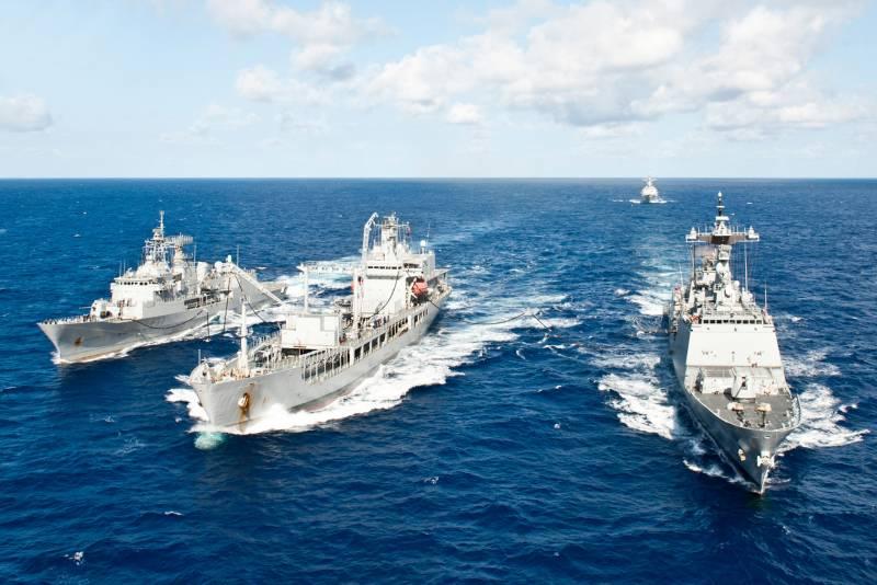 Военно-морские манёвры Sea Breeze 2021. Ученье свет, а неученых – тьма