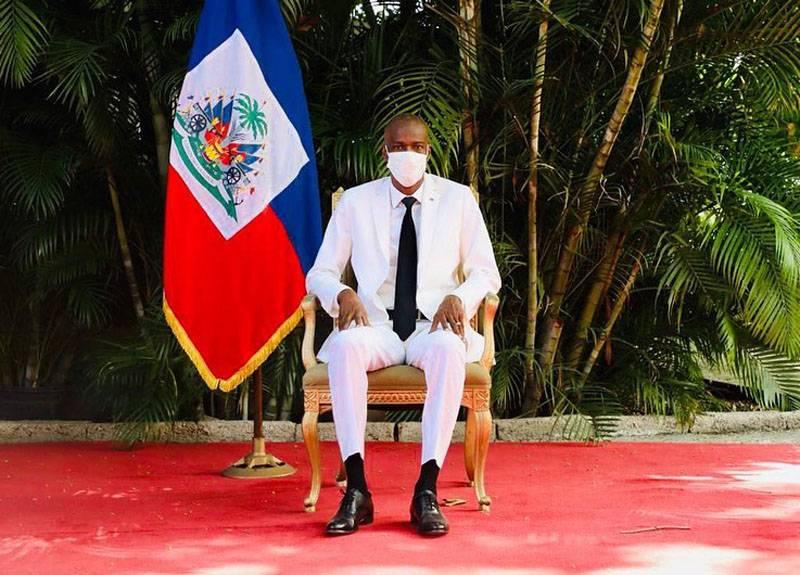 В своей резиденции убит президент Гаити Жовенель Моиз