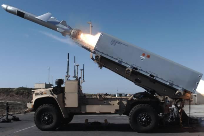USMC için umut verici NMESIS füze sistemi
