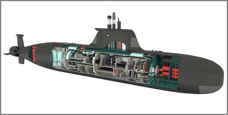 """小排水量""""戈尔贡""""多用途潜艇。 符合船队利益的新概念"""