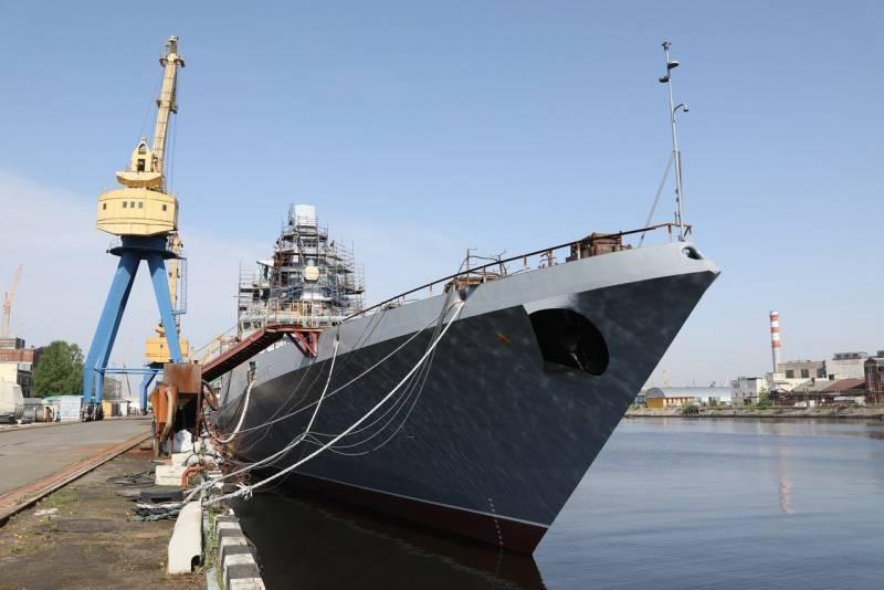 Первый штатный носитель гиперзвуковых ракет «Циркон» войдёт в состав флота в 2022 году