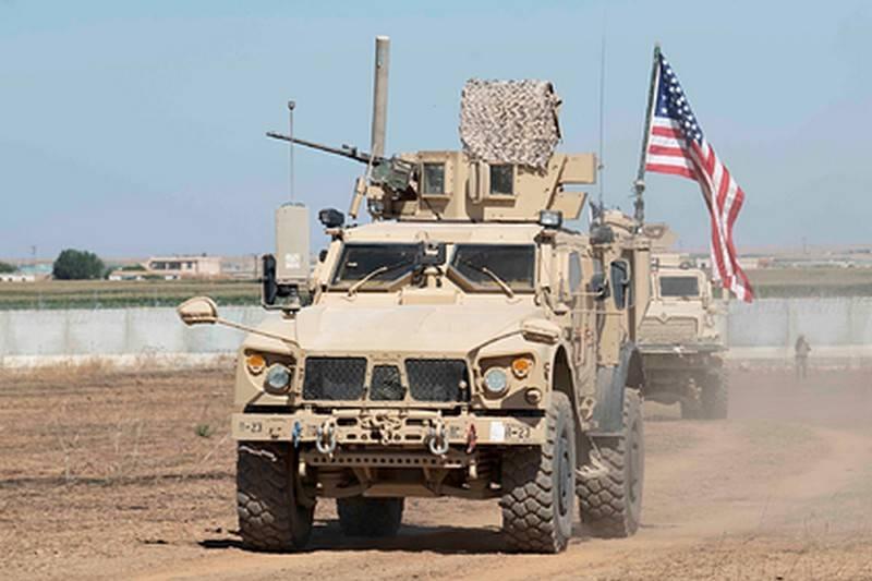 США продолжают наращивание сил на северо-востоке Сирии