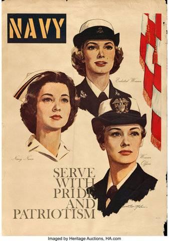 性别对美国海军战备状态的影响