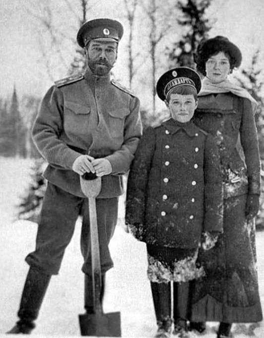 The assassination of Colonel Romanov