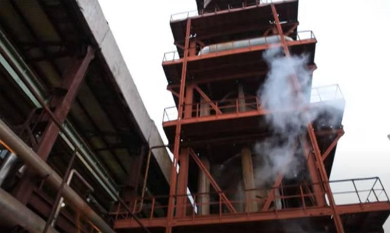 На украинском химзаводе «Ровноазот» прогремел взрыв