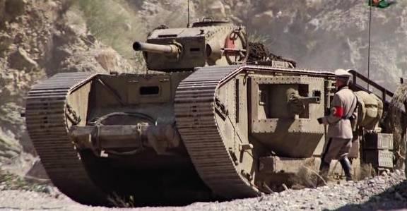 Russische Panzer aus einer alternativen Realität