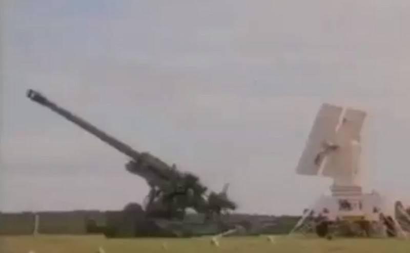 Появилось видео уничтожения французского танка AMX-13 корректируемым снарядом «Краснополь»